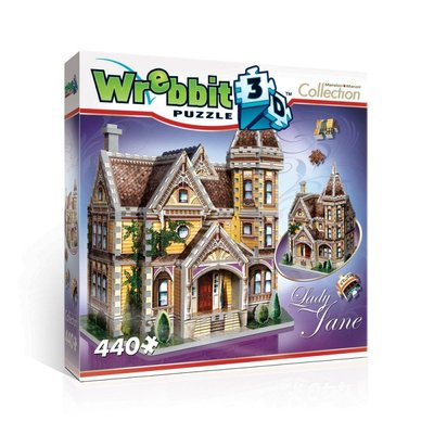 "WREBBIT 3D Puzzle ""Lady Jane"""