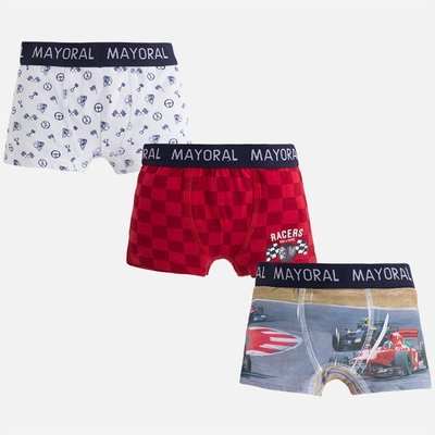 MAYORAL 3pc set printed boxer