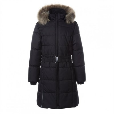 HUPPA Winter coat 300 gr. Yacaranda ( black)