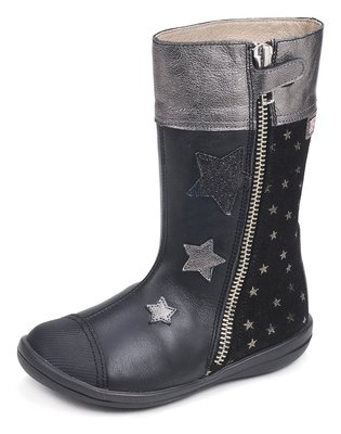 GARVALIN Leather High Boots