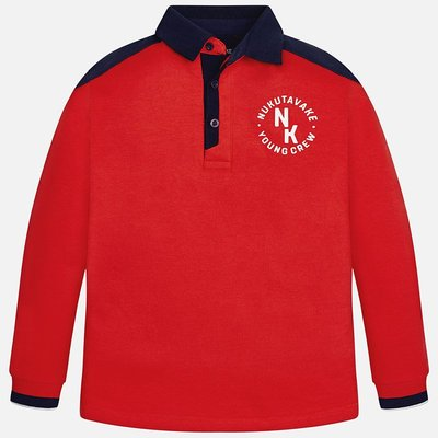 MAYORAL Polo shirt long sleeve