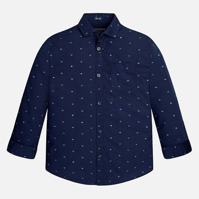 MAYORAL L/s mao collar shirt