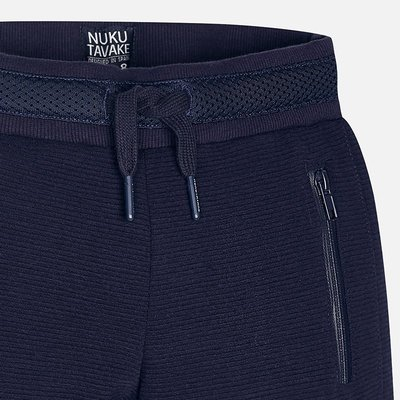 MAYORAL Basic cuffed fleece trousers
