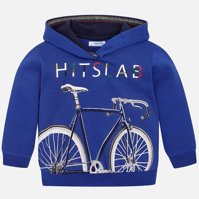 MAYORAL Hoodie with contrasts for boy