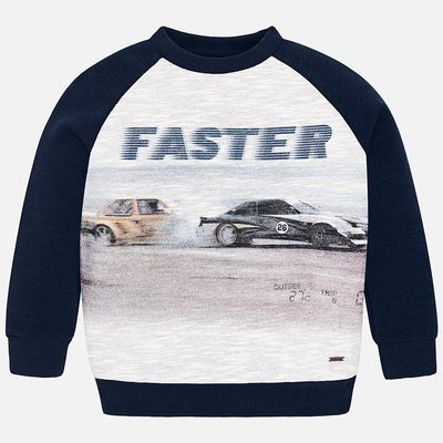 MAYORAL Sweatshirt with faster print for boy