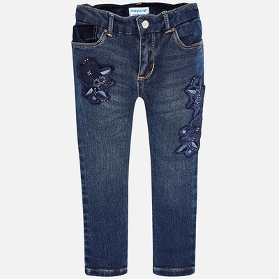 MAYORAL Girl's denim trousers Regular fit