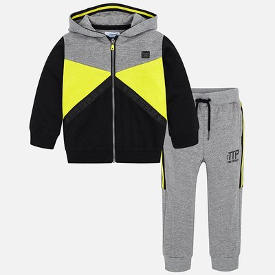 MAYORAL Tracksuit with letters print for boy