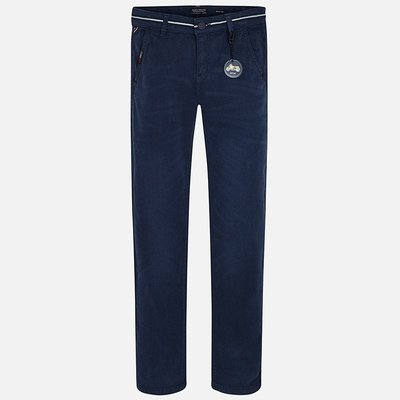 MAYORAL Satin trousers for boy Slim fit