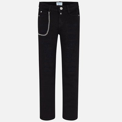 MAYORAL Twill basic trousers Slim Fit