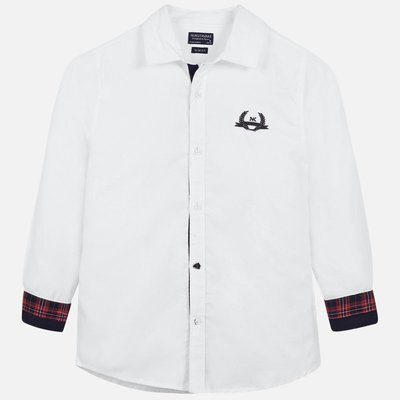 MAYORAL L/s mao shirt