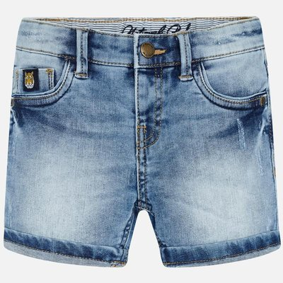 MAYORAL Sustainable denim shorts for boy