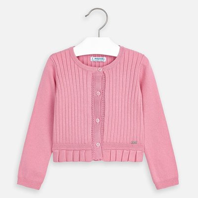 MAYORAL Basic knitted cardigan