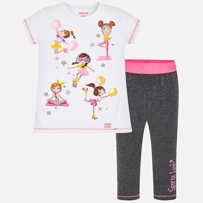 MAYORAL Top and leggings set