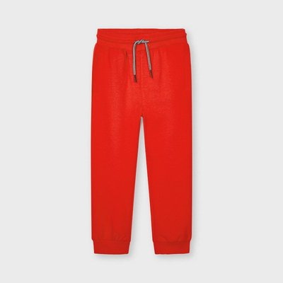 MAYORAL Basic cuffed fleece trousers 742-58