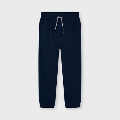 MAYORAL Basic cuffed fleece trousers 742-59