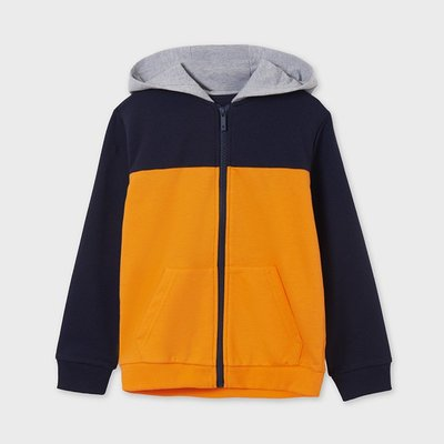MAYORAL Colour block hoodie 6483-14