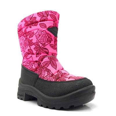 KUOMA Winter boots Pink Owl