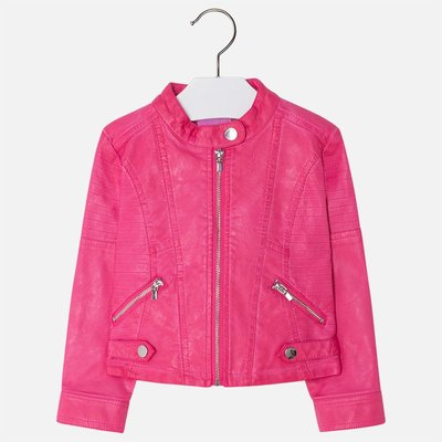 MAYORAL Girl leatherette jacket