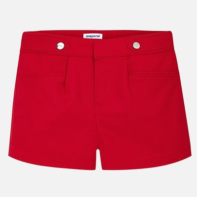 MAYORAL Poplin shorts with pleats for girl