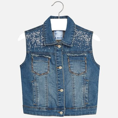 MAYORAL Denim Vest