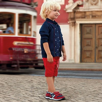 MAYORAL Bermuda shorts with design for boy