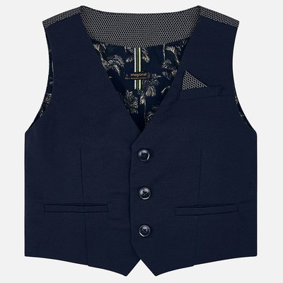 MAYORAL Linen waistcoat for boy