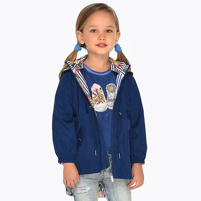 MAYORAL Reversible windbreaker jacket for girl