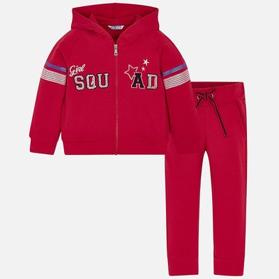 MAYORAL 'Squad' sequin tracksuit for girl