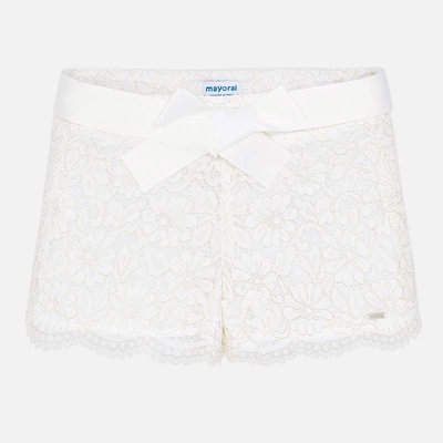 MAYORAL Lace shorts for girl