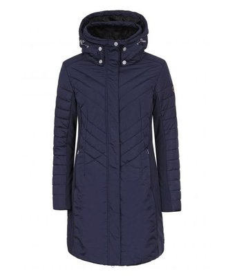 LUHTA Womens Winter Coat (dark blue)