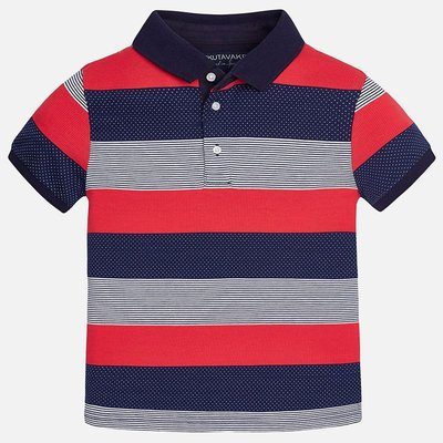 MAYORAL S/s stripes polo