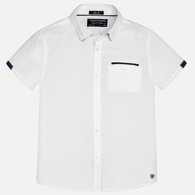 MAYORAL S/s detail shirt