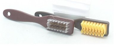 JINDU SHOES Suede leather brush