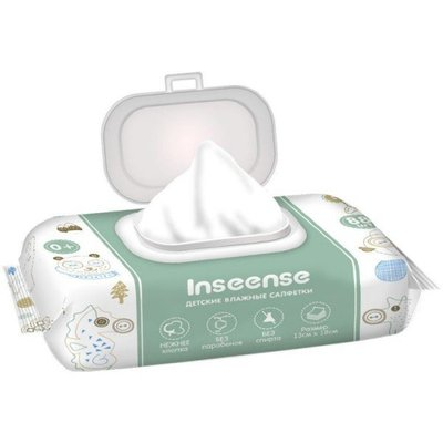 Inseense Baby wipes with Aloe Vera 88 psc