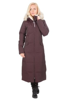LUHTA Womens Winter Coat Eevala (dark purple)