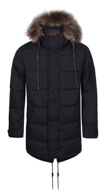 LUHTA Men's Down Winter Parka (black)