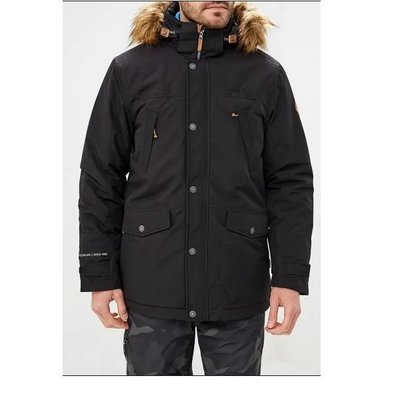 RUKKA Men's Winter Parka (black)