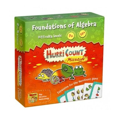 THE BRAINY BAND Board game «HurriCount Mathitude»