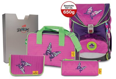 DERDIEDAS Schoolbag ErgoFlex Superlight 5 pcs.