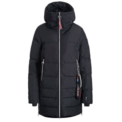 LUHTA Womens Winter Coat Erkintal (black)