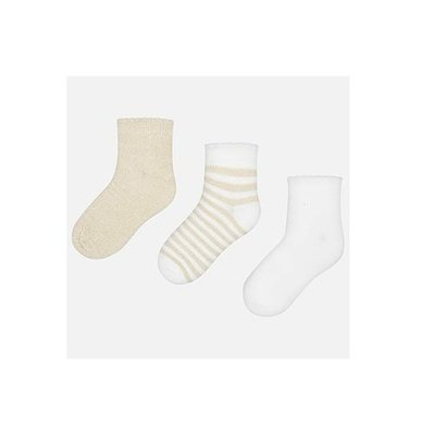 MAYORAL Basic short socks set for girl