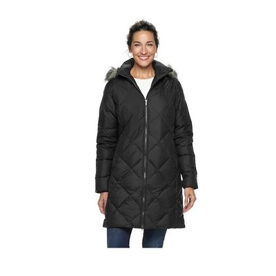 COLUMBIA Woman's Down Winter Coat Mid Lenght