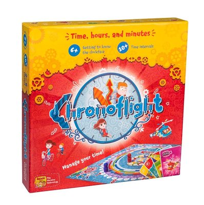 THE BRAINY BAND Board game Chronoflight