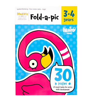 THE BRAINY BAND Workbook «Fold-a-pic 3-4 years» EN