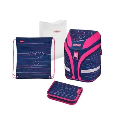 HERLITZ Schoolbag Motion Plus set 4 pcs.