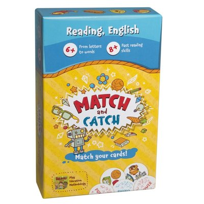 THE BRAINY BAND Board game Match and Catch - English