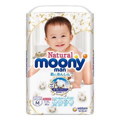 Moony M Natural Pants 5-10 kg (46 pcs.)
