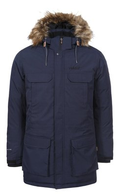 RUKKA Men's Down  Winter Parka (dark blue)