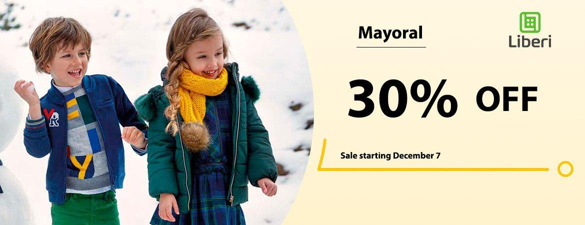 Mayoral sale!